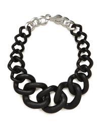 BaubleBar | Black Noir Jurassic Collar | Lyst