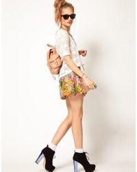 MINKPINK - White High Tea Crochet Top with Zip Back - Lyst