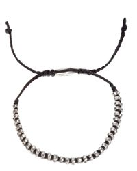 Paul Smith | Black Double Bead Bracelet for Men | Lyst