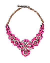 Shourouk - Metallic Apolina Necklace - Lyst