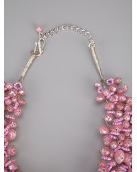 Twist 'n' Scout Pink Beaded Necklace