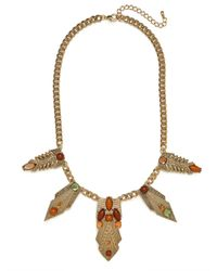 BaubleBar | Metallic Earth Amun Necklace | Lyst