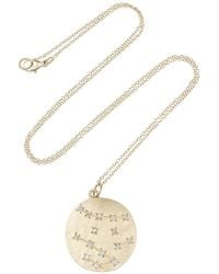 Brooke Gregson - Metallic Gemini 14karat Gold Diamond Necklace - Lyst