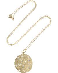 Brooke Gregson | Metallic Sagittarius 14karat Gold Diamond Necklace | Lyst