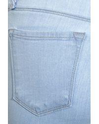 J Brand Blue Lowrise Skinny Jeans