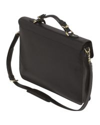 Mulberry Black Bayswater Briefcase for men