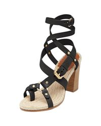 Mulberry Brown Trout High Heel Sandal