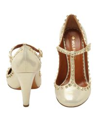 Mulberry Natural Eliza Character Shoe