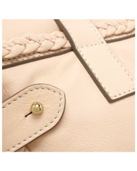 Mulberry Pink Alexa with Woven Trim