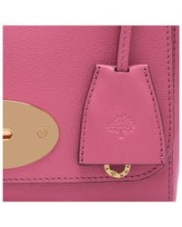 Mulberry Purple Lily Bag