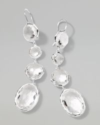 Ippolita | White Rock Candy Clear Quartz Drop Earrings | Lyst