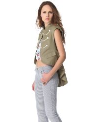 Boy by Band of Outsiders Green Army Gilet