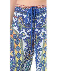 Clover Canyon Multicolor Surf Wide Leg Pants