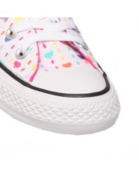 Converse - Multicolor Ct Hearts Low Trainer Shoes - Lyst