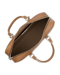 Marc Jacobs Brown The Venetia Leather Bowling Bag