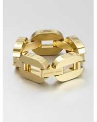 Michael Kors | Metallic Drama Chain Link Bracelet | Lyst