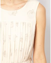 NW3 by Hobbs White NW3 Daisy Cat Dress