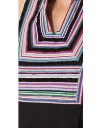 Shoshanna Black Embroidered Gwen Dress