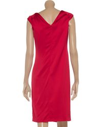 Valentino Pink Crepe Gown Dress