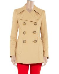 Vivienne Westwood Anglomania Natural Vienna Stretch Cottontwill Peacoat