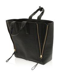 3.1 Phillip Lim Black Pashli Large Tote Bag