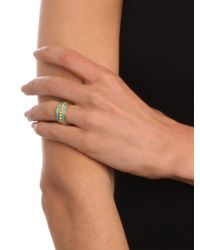 BaubleBar - Metallic Turquoise Michelle Ring - Lyst