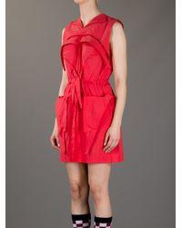 Bernhard Willhelm - Red Sleeveless Dress - Lyst