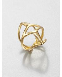 Eddie Borgo | Metallic Webbed Ring | Lyst