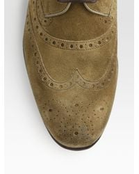 Gucci - Natural Lace-up for Men - Lyst