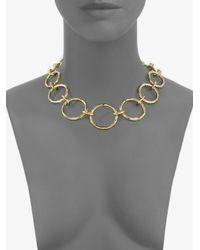 Ippolita - Metallic 18k Gold Link Necklace - Lyst
