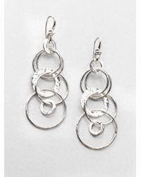 Ippolita | Metallic Glamazon Sterling Silver Jet Set Drop Earrings | Lyst