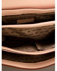 Moschino Natural Medium Cross Body Bag