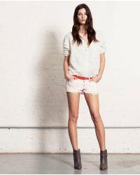 Rag & Bone White Leeds Shirt Vintage Strip