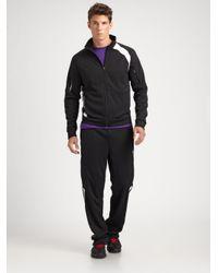 RLX Ralph Lauren - Black Interlock Knit Athletic Pants for Men - Lyst