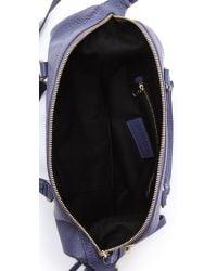 See By Chloé Purple Alix Zipped Bucket Bag