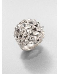 Stephen Webster Metallic Studded Dome Ring