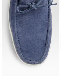 Tod's - Blue Laccetto Marlin Hyannisport for Men - Lyst