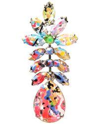 Tom Binns - Multicolor A Riot Of Color Earring - Lyst