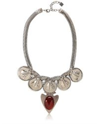 DANNIJO - Metallic Camryn Necklace - Lyst