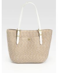 Eric Javits - Natural Squishee Jav Woven Tote - Lyst