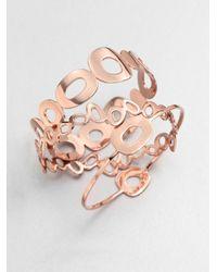 Ippolita - Metallic Rose Mosaico Small Multi-Shape Bangle Bracelet - Lyst