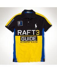 Polo Ralph Lauren Yellow Custom Fit Rl Rafting Polo for men