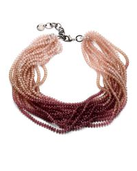 Pono Multicolor Caviar Necklace