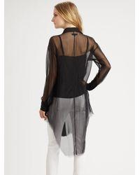 Rag & Bone Black Nightingale Shirt