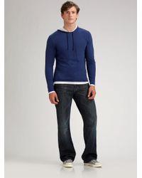 Vince | Blue Crewneck Cashmere Sweater for Men | Lyst
