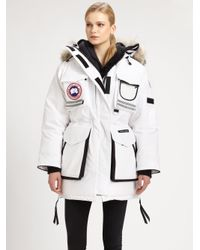 144964fb4761 Lyst - Canada Goose Snow Mantra Parka in White