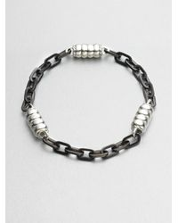John Hardy | Metallic Three-Station Link Bracelet for Men | Lyst