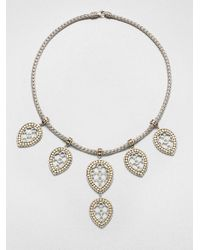 John Hardy | Metallic Dot 18K Yellow Gold & Sterling Silver Fringe Bib Necklace | Lyst