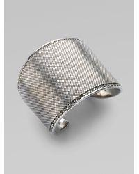 Marc By Marc Jacobs - Metallic Flight Marquis Leaf Bracelet - Lyst