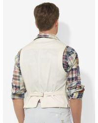 Polo Ralph Lauren Natural Westcott Vest for men